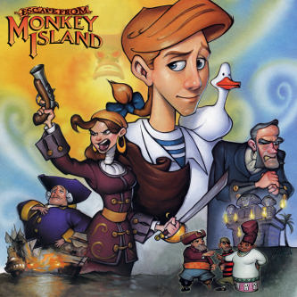 Michael Land et alii: Escape from Monkey Island (EP)