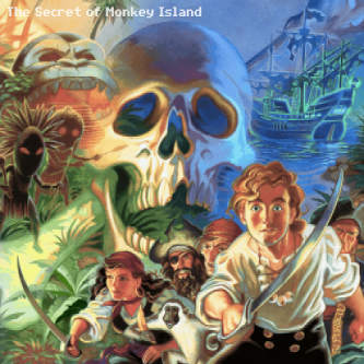 Michael Land et alii: The Secret of Monkey Island (monophony EP)